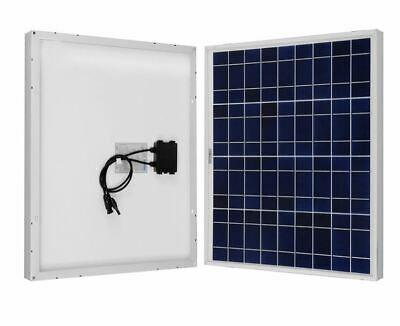 Renogy 50 Watt 12 Volt Polycrystalline Solar Panel Marine Cabin Rv Tiny Home