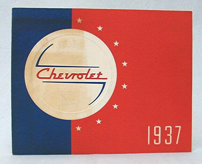 Vintage 1937 Chevrolet Advertising Brochure