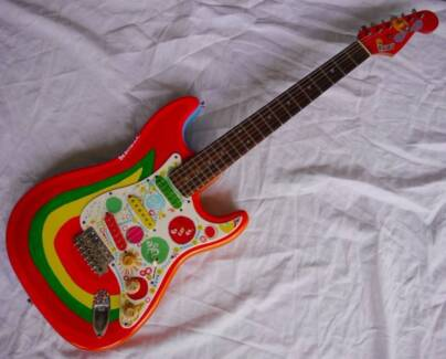 George Harrison Beatles Rocky Psychedelic Stratocaster..will post