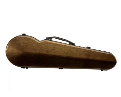 Liyin Hard Violin Case 4/4 Violin Case Carbon Fiber Composite Strong/Light brown