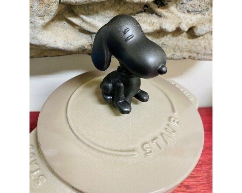 Rare Snoopy Knob Fit Staub cocotte lid new no tag Japan Bruno
