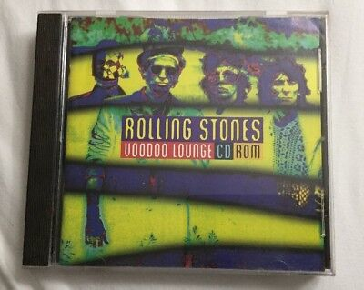 The Rolling Stones Voodoo Lounge CD-ROM 1995