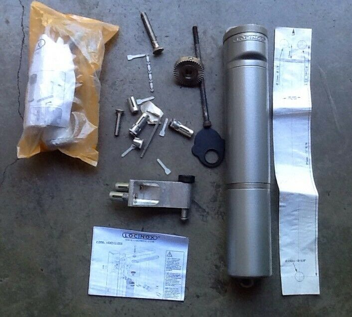 New, Locinox, Missing Parts  , Gate,Hinge and Closer (Silver),W-10A