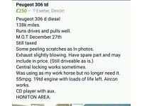 Peugeot 306 diesel.