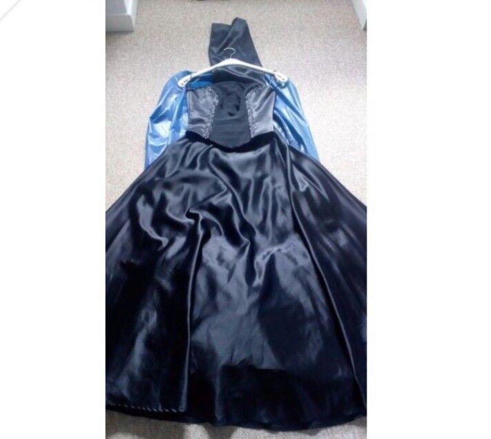 Prom Dress & Clutch Bag