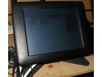"""10"""" epos till system RRP £1200 restauraunt pub fully licenced software with drawer"""