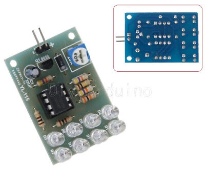 LM358 CHIP 8 LED 12V BREATHE LIGHT LED FLASHING LAMP PARTS ELECTRONIC DIY MODULE
