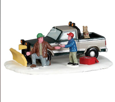 Lemax Village Collection Christmas Snow Plow Set Up #53224 Table Accent ()