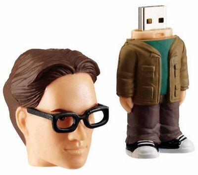 Big Bang Theory 8GB USB Flash Drive Leonard Hofstadter High Speed USB 2.0 PC/Mac 8gb High Speed Flash Drive