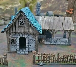 3D printed blacksmith House Warhammer/ Dungeons and Dragons