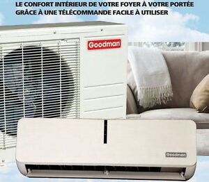 Thermopompe, Climatiseur, Air climatise