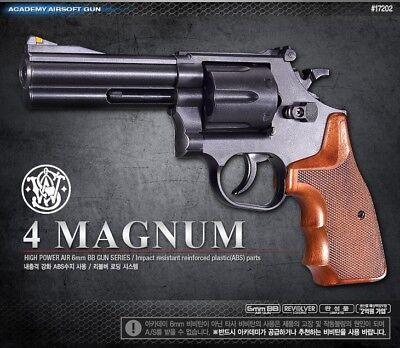 ACADEMY M586  Revolver Airsoft Pistol BB Gun 6mm Hand Grips Toy