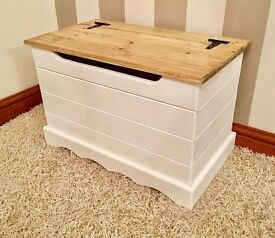 ***Small Pine Ottoman / Blanket Box***ONLY £59***