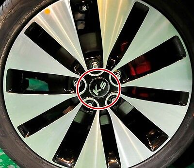 2011 - 2014 KIA OPTIMA K5 Wheel Center Cap 1 set 4pcs OEM Genuine part.