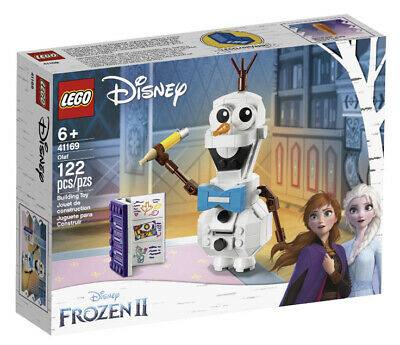 LEGO Disney Frozen II Olaf the Snowman 41169 Building Toy Kit 122 Pieces
