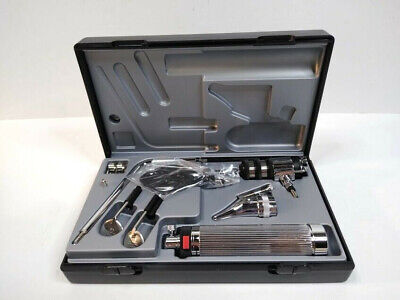 Riester 2050 Econom Diagnostic Set - Otoscope Ophthalmoscope Heads - Hard Case