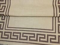 Very big camel colour rug in very good condition