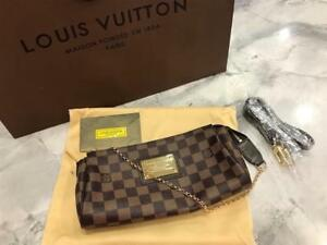 Louis Vuitton Eva Clutch Damier Ebene ( More Styles And Brands Available )