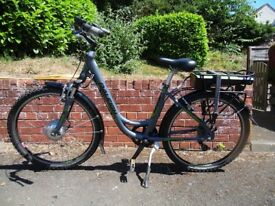 Raleigh Velo pedal assist electric bicycle
