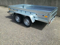 "Brand NEW Car trailer twin axle 8 ft 6"" x 4 ft 4"" 750kg"