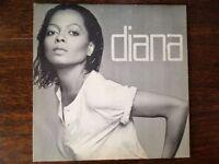 "Diana Ross, Diana, 1980. 12"" vinyl LP, £8 + postage"