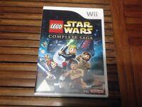 Nintendo Wii Lego Star Wars The Complete Saga Game