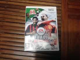 Nintendo Wii Fifa 09 All Play Game