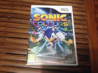 Nintendo Wii Sonic Colours Game
