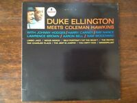 "Duke Ellington, Meets Coleman Hawkins, Jazz. 12"" vinyl LP,"