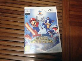 Nintendo Wii Mario and Sonic at the Olympic Winter Games