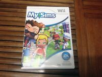 Nintendo Wii My Sims Game