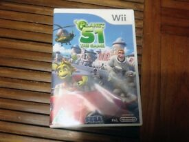 Nintendo Wii Planet 51 Game