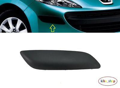 Peugeot 207 2006-2009 Front Bumper Corner Moulding Black Left Side Nearside New