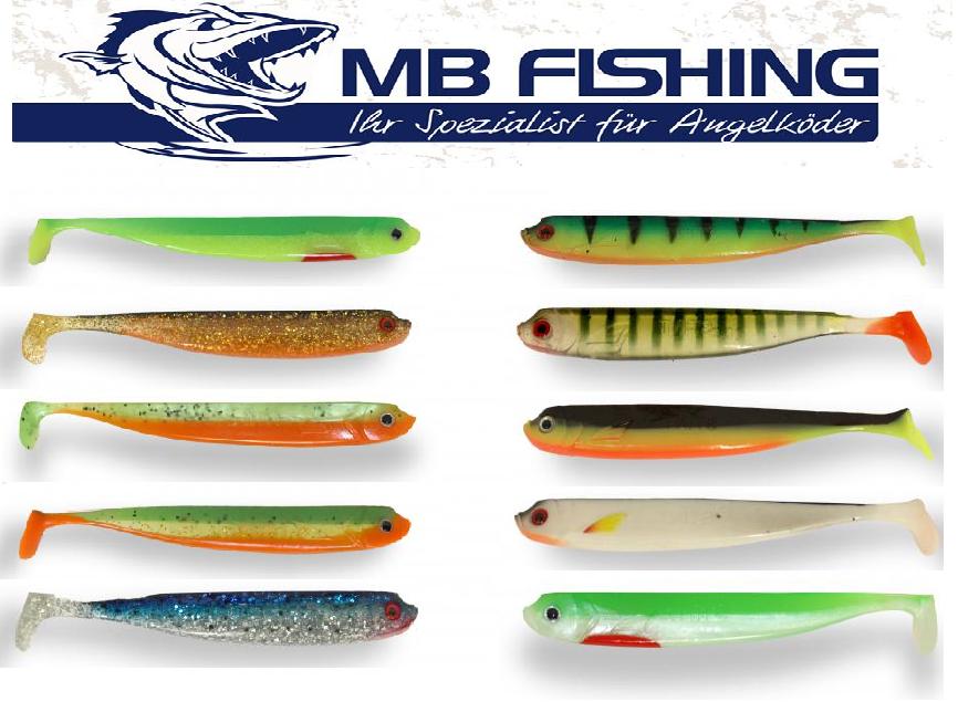 MB Fishing Stint Shad in 12,5 cm Bald dein Lieblingsköder für Hecht und Zander b