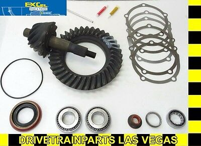"Richmond Excel Ford 9"" 5.29 Ratio Ring and Pinion Gear Set + Pinion Install Kit"