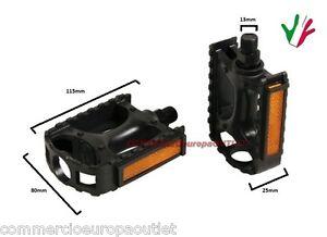 coppia-pedali-bici-MTB-BICICLETTA-ANTISCIVOLO-PVC-pair-of-bike-pedals