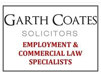 *Employment & Commercial Law Specialists* Garth Coates Solicitors