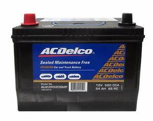 New AU22R520SMF AC DELCO Ford Battery 57EF 54D MF54 520CCA Morningside Brisbane South East Preview