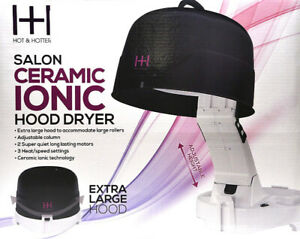 Annie Hot & Hotter Extra Large 1500 Ceramic Ionic Hood Dryer, 8