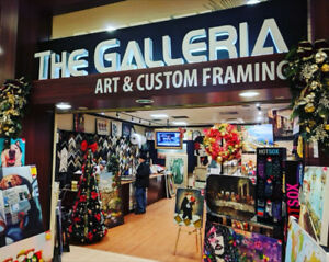50-75%OFF CUSTOM FRAMING! CANVAS STRETCHING,PICTURE FRAMES SALE!