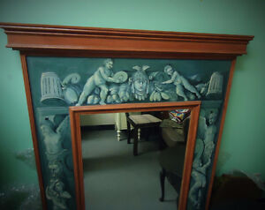 MIRRORS: MAHOGANY FRAME & PIER PAINTED FRAME West Island Greater Montréal image 6