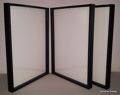 3 JERSEY Display Case Frame Shadow Box Frame Football Basketball White A
