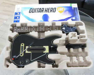 GUITAR HERO LIVE FOR XBOX 360 BUNDLE COMES WITH GUITAR STAND