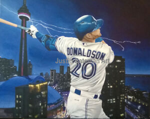 "Art Prints of Josh Donaldson 22""x28"""