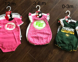 Edmonton eskimos baby girl clothing