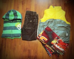 Boy's Size 8 Fall outfit & footwear size 2 youth