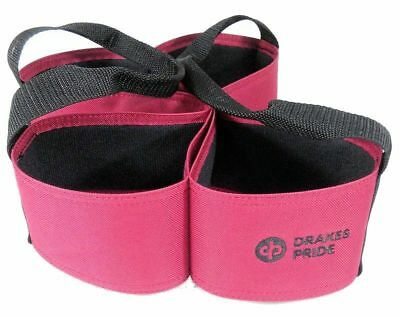 Drakes Pride - Four Bowl Carrier - Pink - Bowls Carry Bag