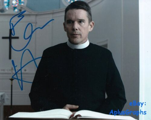 ETHAN HAWKE.. First Reformed - SIGNED