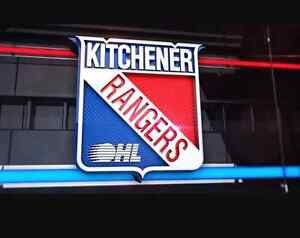 2 Gold Seats Kitchener Rangers for Tonight!