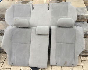 2013 Toyota Corolla Rear Seat Complete Assembly Bench Grey Gray